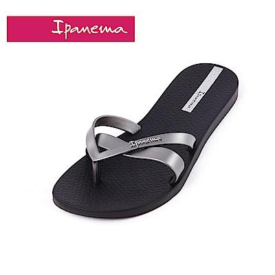 IPANEMA  KIREI系列 純色簡約拖鞋(女款)-黑色