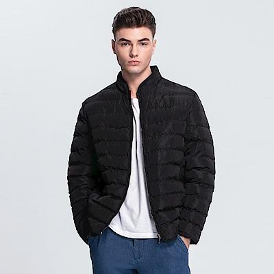 Emilio Valentino 范倫提諾經典鋪棉外套-黑