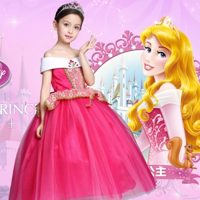 Kori Deer 可莉鹿 睡美人蓬裙公主服 女童萬聖節派對變裝造型服 禮服造型攝影寫真