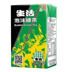 生活泡沫綠茶