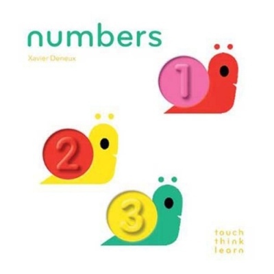 Touch Think Learn:Numbers 數字厚紙硬頁認知書