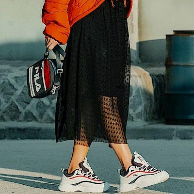 FILA #漢城企劃 女款紗裙-黑 5SKT-1427-BK