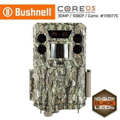 美國 Bushnell 倍視能 Core DS 3000萬畫素 極速高畫質雙感應器紅外線自動相機 無光型 119977C (公司貨)