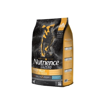 Nutrience紐崔斯SUBZERO頂級無穀犬+凍乾(火雞肉+雞肉+鮭魚) 5kg(11lbs)  送全家禮卷50元*1張 (購買第二件贈送寵鮮食零食1包)