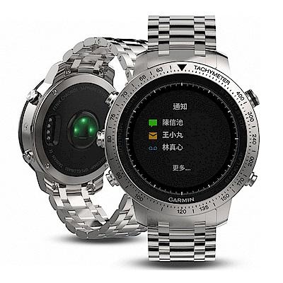 GARMIN fēnix Chronos 腕式心率GPS精鋼腕錶