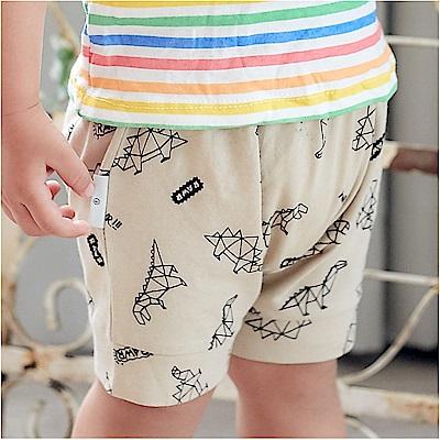 baby童衣 多花色滿版印花褲 純棉短褲 90068