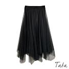 兩穿針織紗裙 共三色 TATA-F