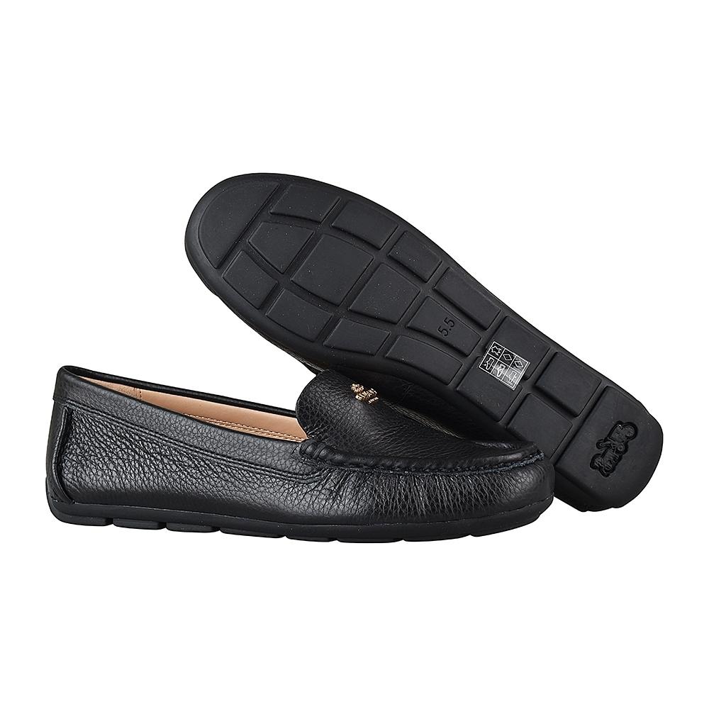 COACH專櫃款 Marley Driver金字馬車LOGO牛皮平底鞋(黑) product image 1
