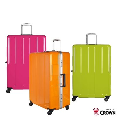 CROWN 皇冠 27吋 鋁框拉桿箱 行李箱 旅行箱