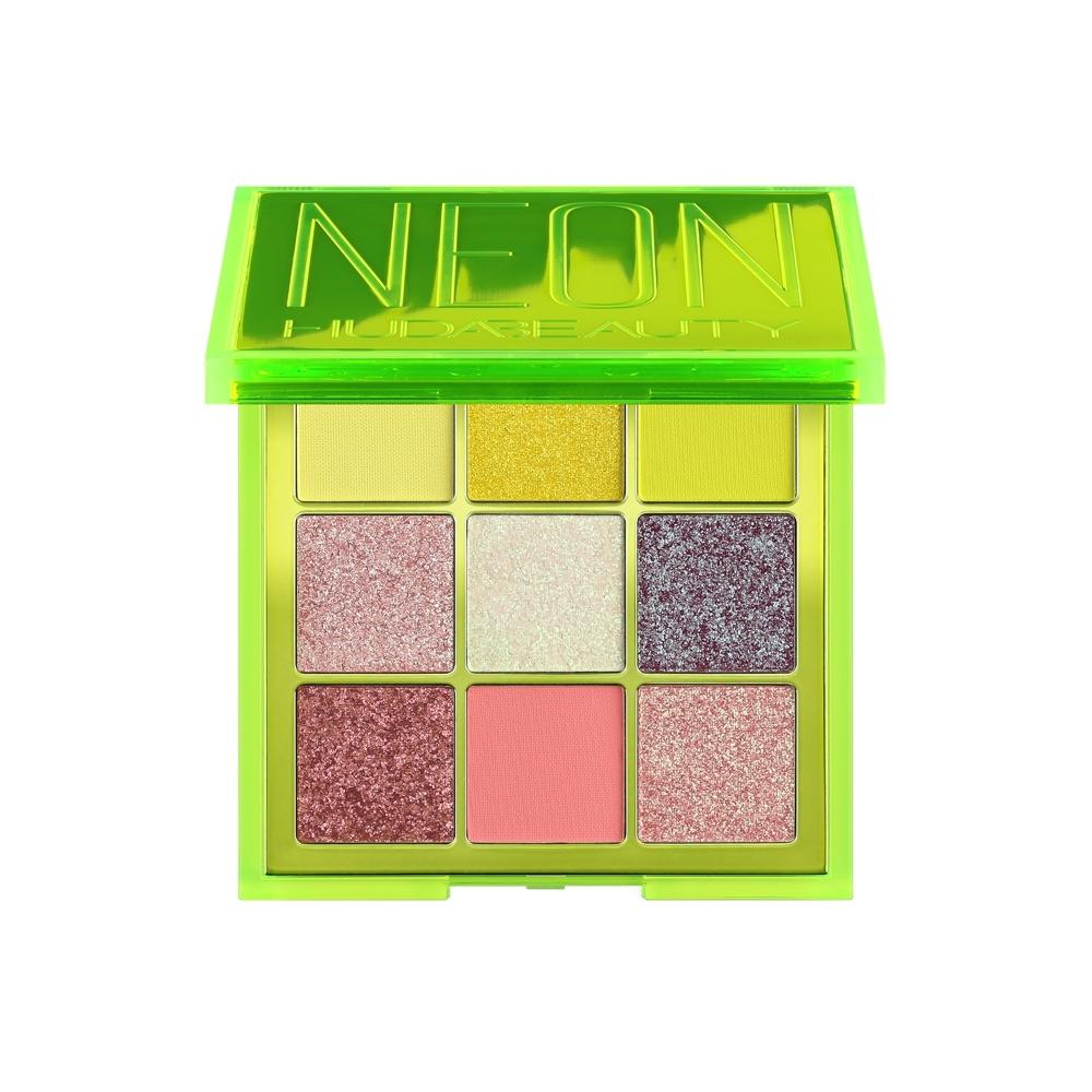 HUDA BEAUTY 霓虹系列 9色眼影盤#NEON GREEN 9x1.1g