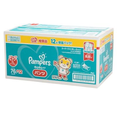 Pampers 巧虎褲型紙尿褲 日本境內彩盒版 XL 44片x2包/箱