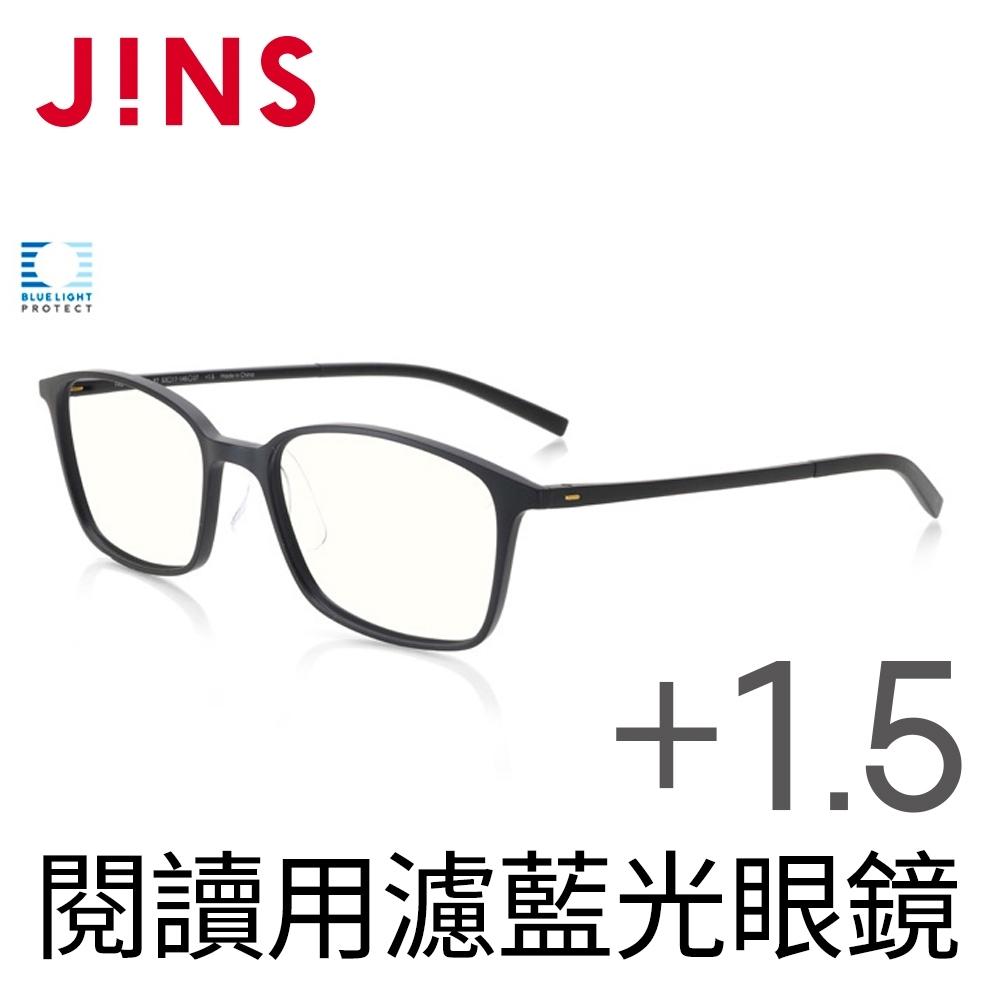 JINS 閱讀用濾藍光老花眼鏡+1.50 (AFRD18A068)
