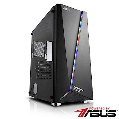 華碩B365平台 [菁英道尊]i3四核RTX2060獨顯SSD電玩機