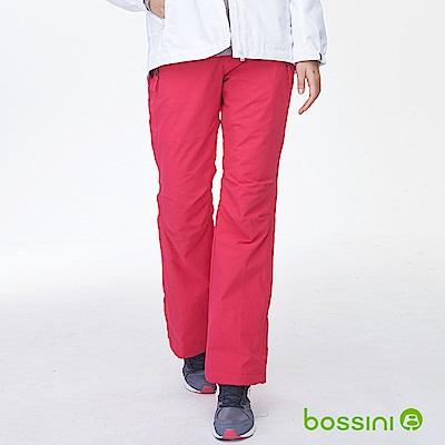 bossini女裝-高效熱能雪褲亮桃紅