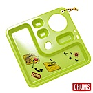 CHUMS-野餐露營餐盤 萊姆綠【日本製】