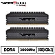 VIPER美商博帝 VB4 DDR4 3000 8GB(2x4G)桌上型記憶體 product thumbnail 1