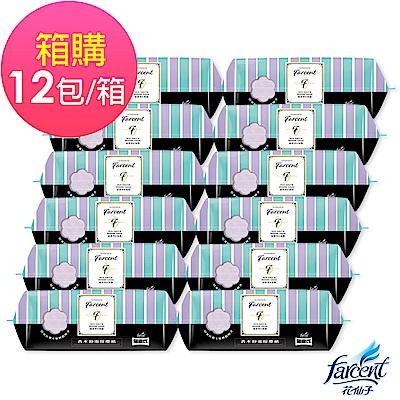 Farcent 香水靜電除塵紙-鼠尾草海鹽(25張/包,12包/箱)箱購