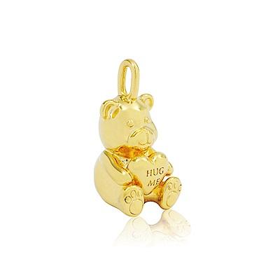 Pandora 潘朵拉 金色抱抱熊 墜飾串珠