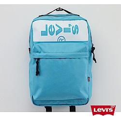 Levis 男女同款迷你後背包 都會電腦包 高密度纖維 Lazy Tab Logo