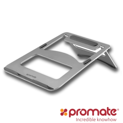 Promate 鋁合金筆電便攜散熱支架(DeskMate-3)