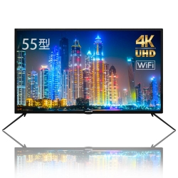 PROTON 普騰55型UHD 4K高畫質連網液晶顯示器+視訊盒(PLD-K559EI8)