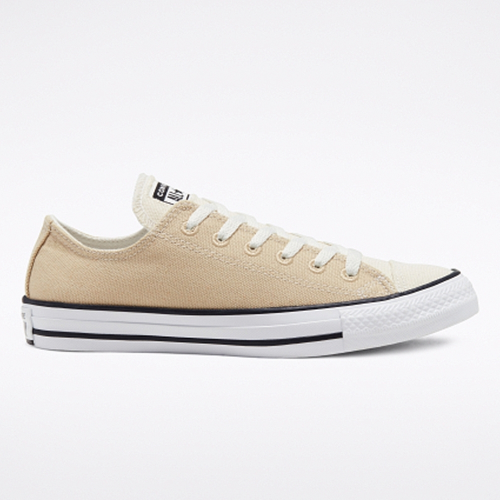 CONVERSE CTAS OX 低筒休閒鞋 中 奶茶色拼接 167646C