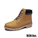 Men-Inc.「強悍」軍規耐磨工作靴 (黃色)