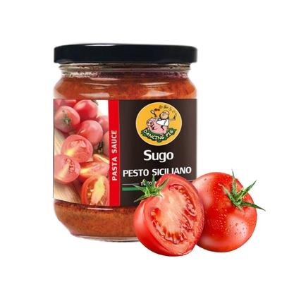 (任選)豬跳舞  西西里日曬番茄紅醬 義大利麵醬(180g)