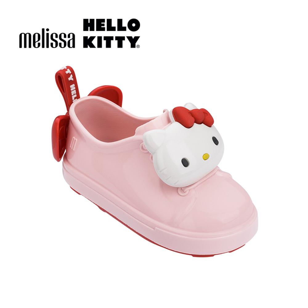 Melissa X HELLO KITTY 寶寶休閒鞋-粉紅色