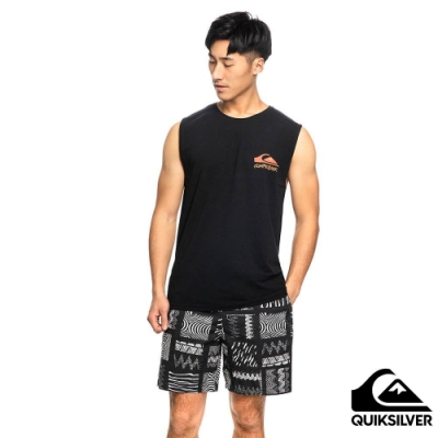 【QUIKSILVER】FANTASY BEACH MUSCLE 背心 黑色