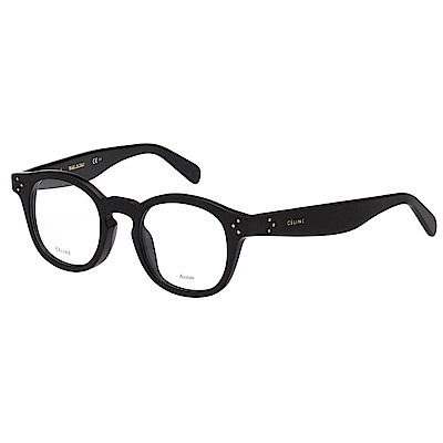 CELINE 復古 光學眼鏡(黑色)CL41417F @ Y!購物