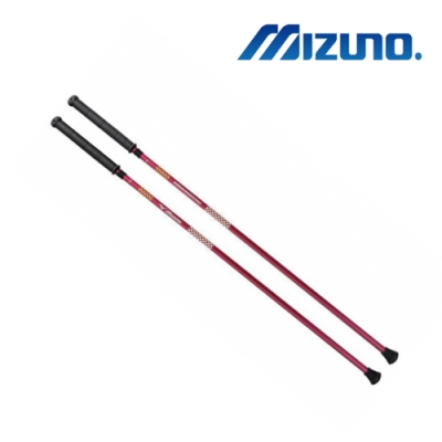 MIZUNO MIGHTY POLE入門款 (2支1組 ) 男用健走杖 C3JTP73066