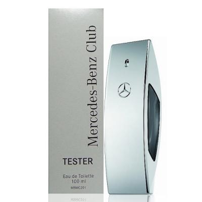 Mercedes Benz Club 銀色風潮淡香水100ml Tester 包裝