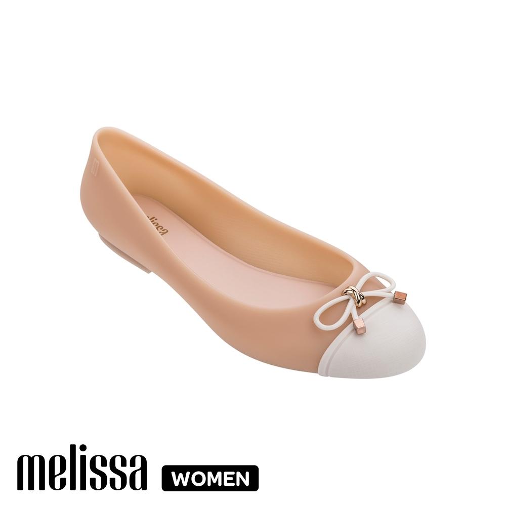 Melissa撞色娃娃鞋 果凍橙