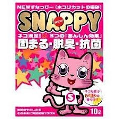 SNAPPY 清新檸檬香貓砂 10L 三包組