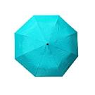【台灣嚴選】RA32042GN小清新-輕巧環保三折 手開晴雨傘綠色(傘面外徑114CM)