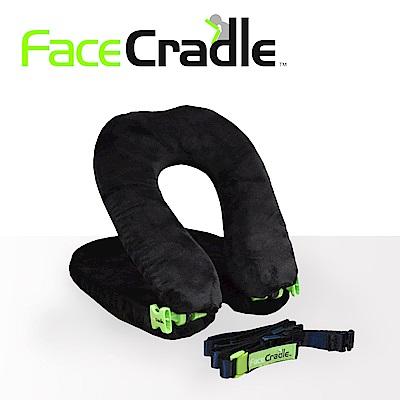 FaceCradle Lite 多功能旅行枕 / 午睡枕 / 護頸枕 - 輕巧進化版(黑)