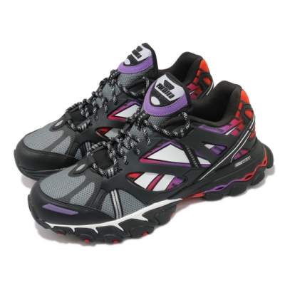 Reebok 慢跑鞋 DMX Trail Shadow 運動 男鞋 戶外 越野 避震 包覆 反光 球鞋 穿搭 黑 白 FV2842