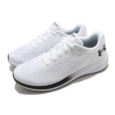 UA 慢跑鞋 Charged Pursuit 2 男鞋 輕量 透氣 舒適 避震 路跑 健身 白 黑 3023865100