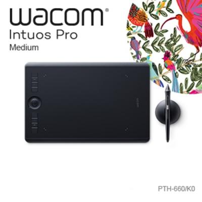 (福利品)Wacom Intuos Pro Medium 創意觸控繪圖板