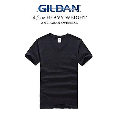 GILDAN 吉爾登美國棉V領亞規素T 紳士 上班族