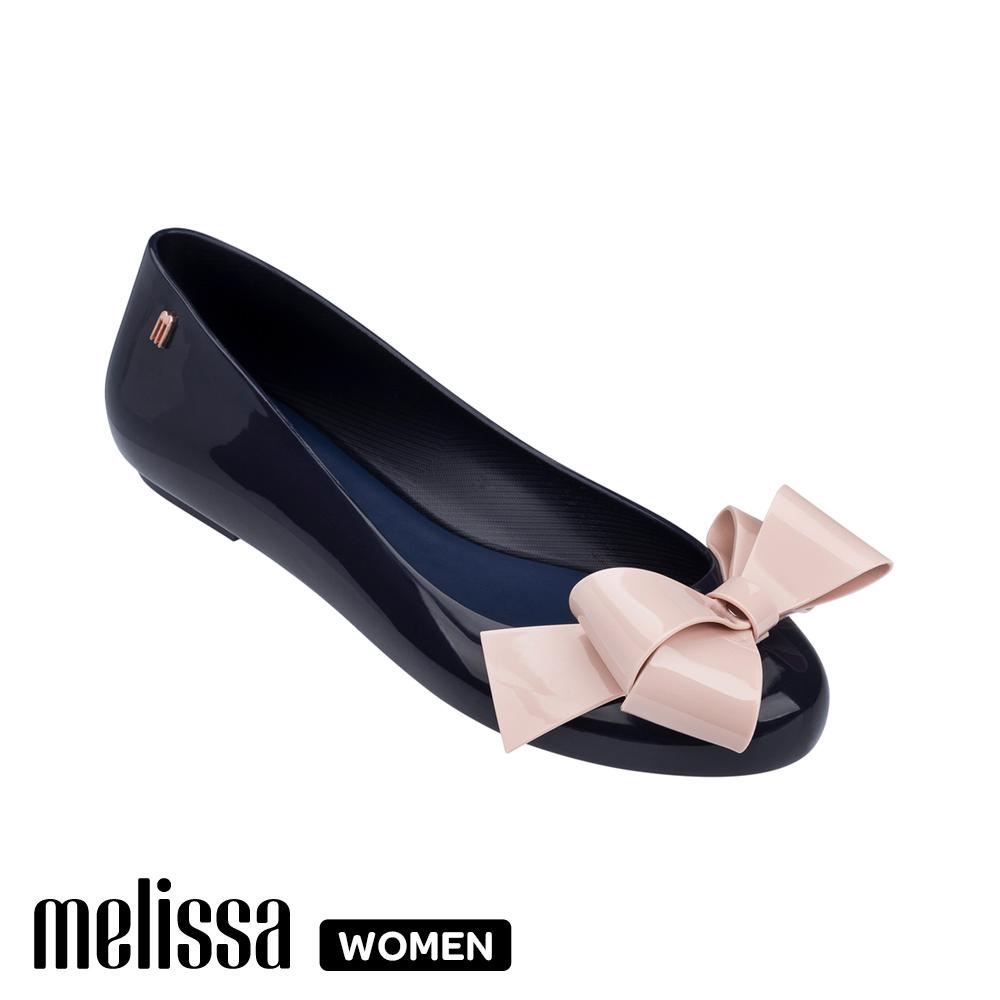 Melissa 經典蝴蝶結娃娃鞋 藍