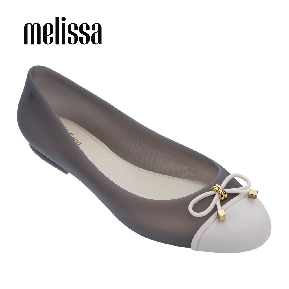 Melissa DOLL 平底娃娃鞋 - 果凍灰