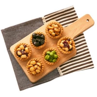 艾薇 綜合夏威夷豆塔禮盒(蜂蜜蔓越莓3+椒麻3+巧克力3+小山園抹茶3)(CAT)
