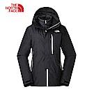 The North Face北面女款黑色防水保暖外套|3KQXJK3