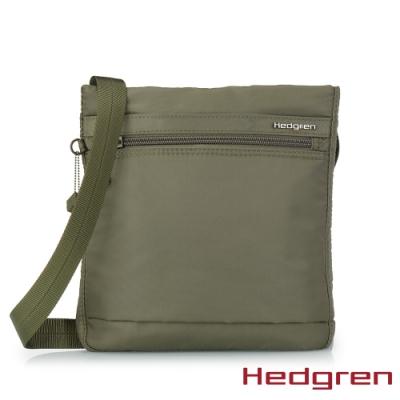 【Hedgren】INNER CITY輕量隨身 側背包-橄欖綠