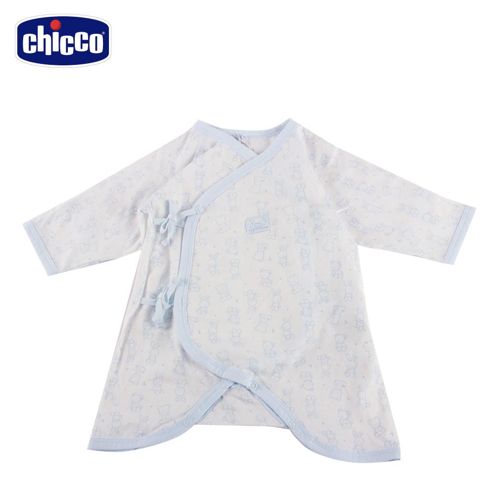 chicco-印花蝴蝶裝-藍(3-6個月)