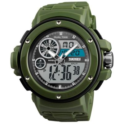 SKMEI 時刻美1341-雙機芯多功能防震防水電子錶