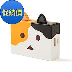 日本cheero貓阿愣6000mAh行動電源 (三毛)