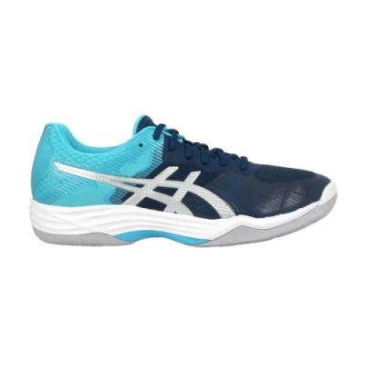 ASICS GEL-TACTIC 男排羽球鞋-排球 羽球 訓線 亞瑟士 1071A031-401 藍綠銀